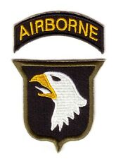 "WWII - 101st AIRBORNE W/TONGUE ""Od Border"" (Reproduction)"