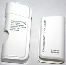 2AA Emergency Usb Battery Travel Power Charger For Nokia Lumia 535,635,435,430 W