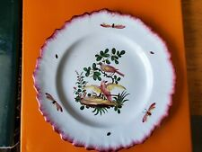 Antique French Lunéville Faience Plate 18th Century