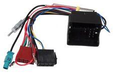 Adaptador con ISO cables enchufes para autoradio de Skoda y Volkswagen