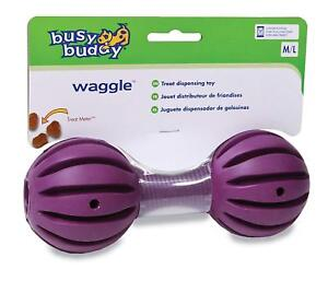 Busy Buddy Waggle M/L, Interactive Treat Dispensing Dog Toy, Chew Medium