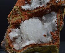 Hemimorphite sur limonite - 126 grammes -  Durango, Mexique