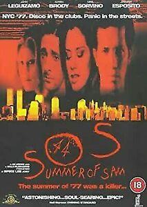 "Son of Sam Serieal Killer Movie DVD "" Summer of Sam SOS 1999 Spike Lee Film"