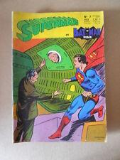 Superman e Batman Robin n°7 1969 Sagedition en francais [G756] BUONO