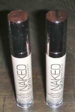 Urban Decay Lot of 2 Naked Skin Complete Coverage Concealer - MEDIUM LIGHT WARM