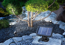 Garden Spotlights Solar Power X3 Light Up Features Bright LED Free UK Delivery