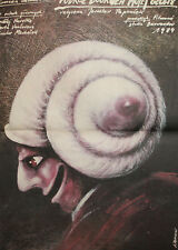 Andrzej Pagowski, Round My Head in 40 Days 1984, Poland Movie poster print