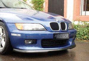 Rieger Frontspoilerlippe schwarz matt für BMW Z3 (R/C) 6-Zylinder Roadster,  ...
