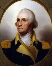 """New 8x10 Photo: President George Washington, """"Father of Our Country"""""""