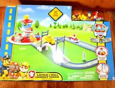 PAW  PATROL  LAUNCH  'N  ROLL  LOOKOUT   TOWER  TRACK  SET  (FR)