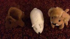 3 McDonald's National Wildlife Federation Plush: Lion, Camel, Polar Bear