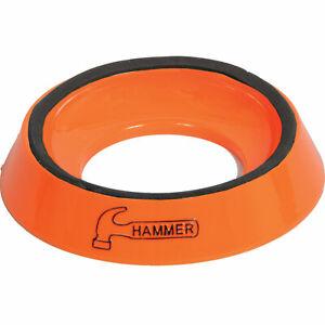 Bowlingkugel Ballständer Hammer Bowling Ball Cup orange mit Relief Hammer-Logo