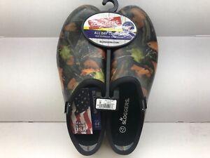 Sloggers Men's Garden and Rain Shoes Size 9 Camo Fall Hardwood