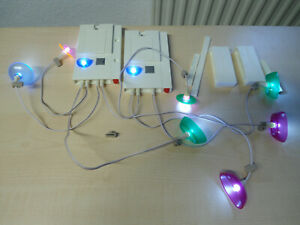 """Playmobil Set 7390/7391   """"Beleuchtungsset""""  gebraucht"""