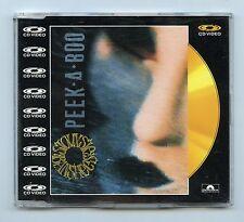 Siouxsie & Banshees/Peek-A-Boo (Audio + Video) + 2 More Audio Trax MINT! PAL
