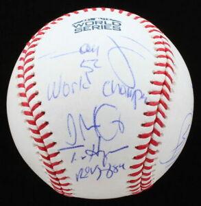 Boston Red Sox - Alex Cora + 5 - Signed Baseball 2018 World Series - JSA COA.