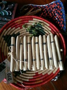 GYPSY LAUNDRY PEGS  - heritage crafts English Hampshire-coppiced shop display