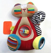 Dolce Siamese Cat Interactive Educational Sensory Stuffed Animal Plush Toy