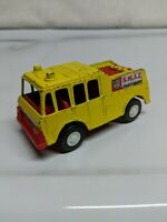 Tootsietoy Rescue Equipment Truck Yellow Made in USA