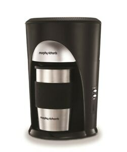 Morphy Richards On The Go Filter Coffee Machine with Thermal Travel Mug & Filter