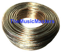 Premium 18 Gauge 100' ft Classic Clear SPEAKER WIRE Cable Car Audio Home Stereo