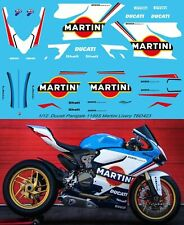 1/12 Ducati Panigale 1199 S Martini Livery Abziehbilder TB Decal tbd423