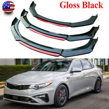 Us Gloss Black Front Bumper Lip Splitter Body Kit For Kia Optima K5 2011-2020 (Fits: Kia)