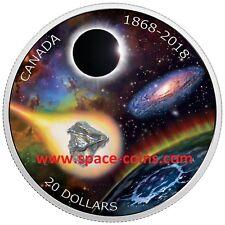 Canada 2018, Royal Astronomical Society, Campo Meteorite, RASC, $20, 1868-2018