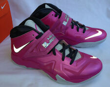 Nike Lebron Zoom Soldier VII 554671-601 BCA Pink Basketball Shoes Men's 12 new