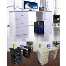 Escritorios y mesas de PC zona de trabajo de MDF/aglomerado-efecto madera para el hogar