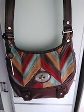 Fossil bag crossbody leather