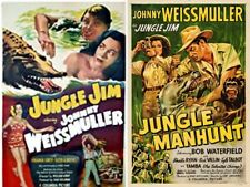 Jungle Jim Movie Collection 16 Movies 4 Discs Great Deal! Johnny Weissmuller