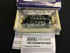 Dapol ND-062A N Gauge Class Ivatt 2-6-2 Locomotive '1200' in LMS black Boxed