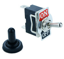 Waterproof On/Off Toggle Flick Switch 2-Pin 15A SPST