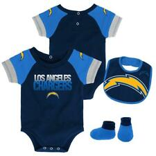 Infant San Diego Chargers Creeper Set Baby Snapsuit Set