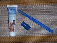 Pro-Pet Dog oral health care kit,toothpaste w brush & scrubber,3 oz,puppy, Pet