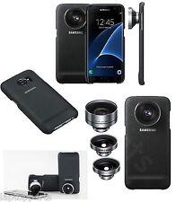 100% Genuine Samsung Camera Lens Case Cover KIT Teleobiettivo per Galaxy S7 NERO