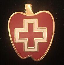 Big Apple Red Cross New York Red Cross Pin Pinback