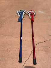 Stx Al6000+ Pro (Red & Blue) Lacrosse Sticks