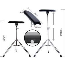 Tattoo Tripod Stand Arm Leg Rest Studio Chair Pad Height Sponge Adjustable Pro