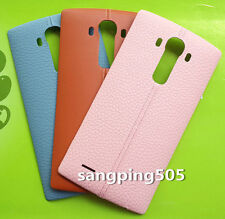 Genuine Leather Battery Back Cover & NFC LG G4 F500 H815 H810 H811 VS999 LS991