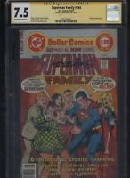 Superman Family #184 CGC 7.5 SS Neal Adams SUPERGIRL Nightwing 1977