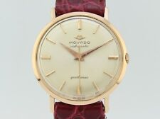 Movado Gentleman Automatic 18k Gold