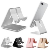 Universal Aluminum Desktop Desk Stand Holder Mount For Cell Phone Tablet Laptop