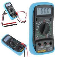 XL830L Digital LCD Multimeter Voltmeter Ammeter AC/DC/OHM Current Circuit Tester