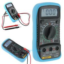 XL830L Digital LCD Multimeter Voltmeter Ammeter AC/DC/OHM Current Circuit Tester