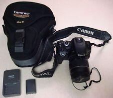 Canon EOS Digital Rebel XTi 10.1MP DSLR Camera w/ 28-80mm f3.5-5.6 II Lens & Bag