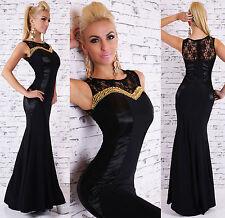 Full Length Chiffon Cocktail Patternless Dresses for Women