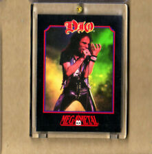 Dio-Trading Card-1991 MegaMetal Impel-Encased-Official Licensed-Authentic-Mint