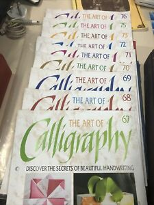 9 Calligraphy Books